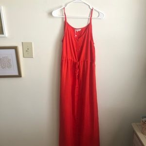 T.J.Maxx Button Front Maxi Dress NWT